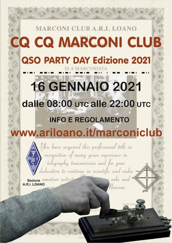 Marconi Club QSO Party Day 2021